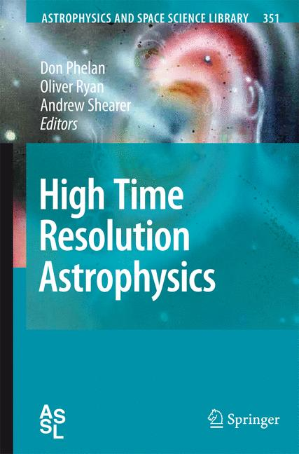 Cover of 'High Time Resolution Astrophysics'