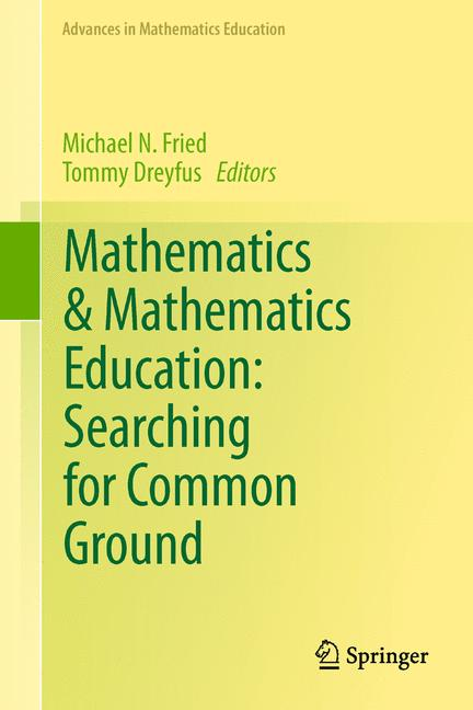 Cover of 'Mathematics & Mathematics Education: Searching for Common Ground'