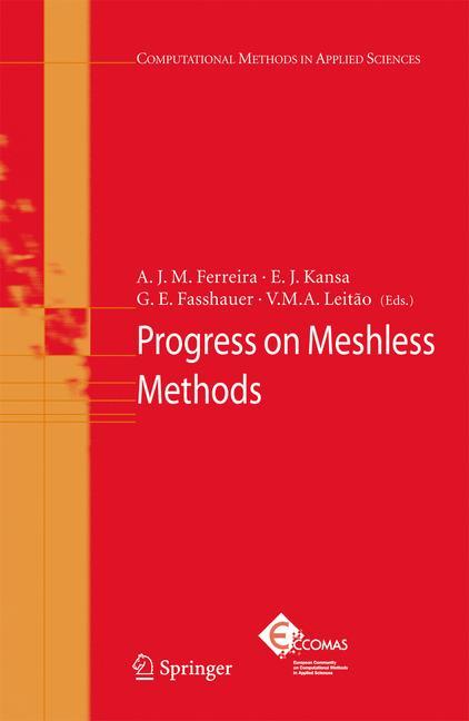 Cover of 'Progress on Meshless Methods'
