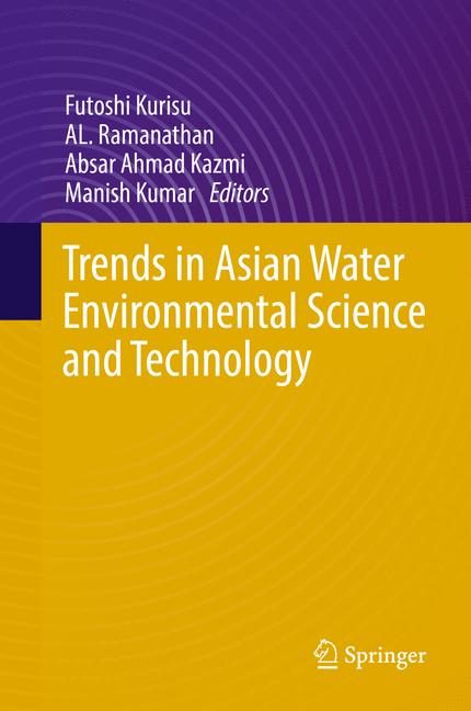 Cover of 'Trends in Asian Water Environmental Science and Technology'