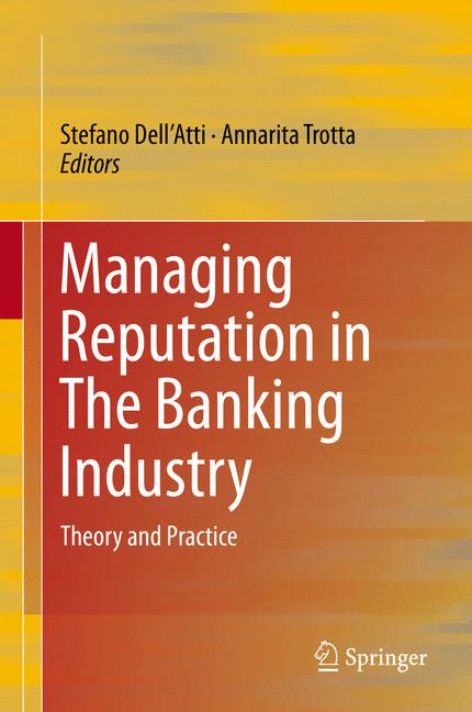 Cover of 'Managing Reputation in The Banking Industry'