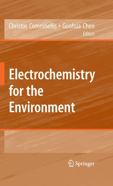 Cover of 'Electrochemistry for the Environment'