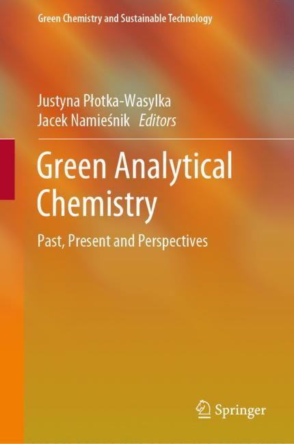 Cover of 'Green Analytical Chemistry'