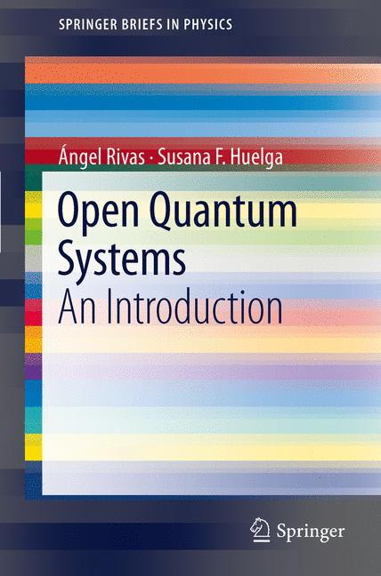 Cover of 'Open Quantum Systems. An Introduction'