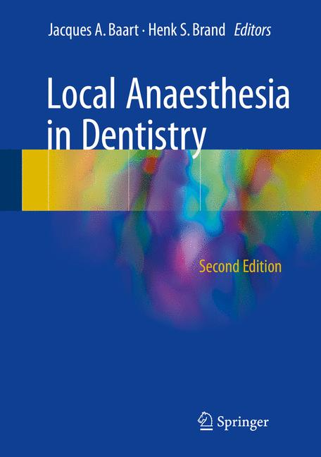 Cover of 'Local Anaesthesia in Dentistry'