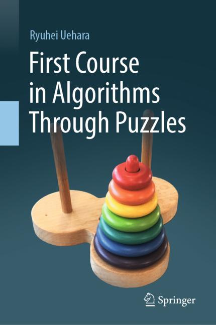Cover of 'First Course in Algorithms Through Puzzles'