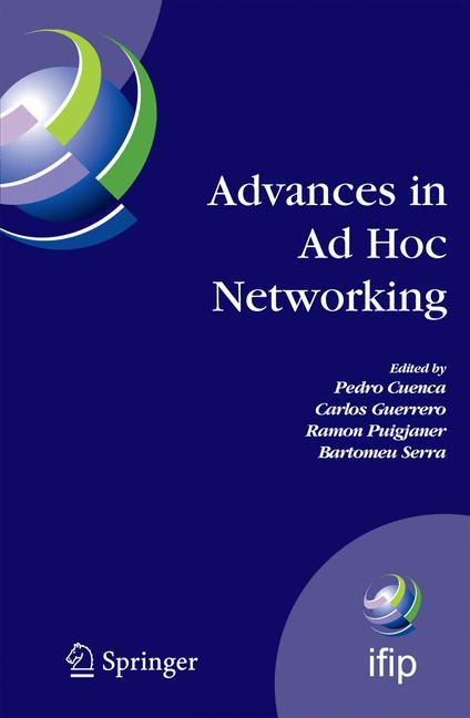 Cover of 'Advances in Ad Hoc Networking'