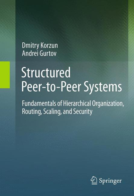 Cover of 'Structured Peer-to-Peer Systems'