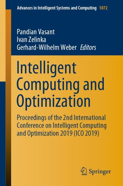 Cover of 'Intelligent Computing and Optimization'
