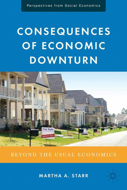 Cover of 'Consequences of Economic Downturn'