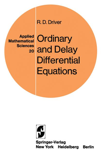 Cover of 'Ordinary and Delay Differential Equations'