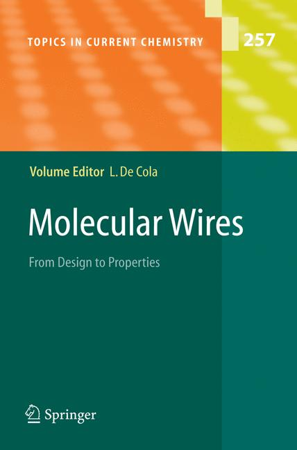 Cover of 'Molecular Wires and Electronics'