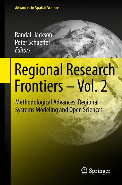 Cover of 'Regional Research Frontiers - Vol. 2'