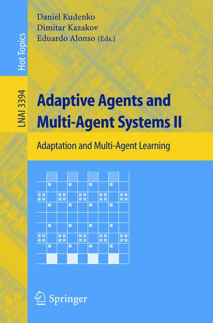 Cover of 'Adaptive Agents and Multi-Agent Systems II'