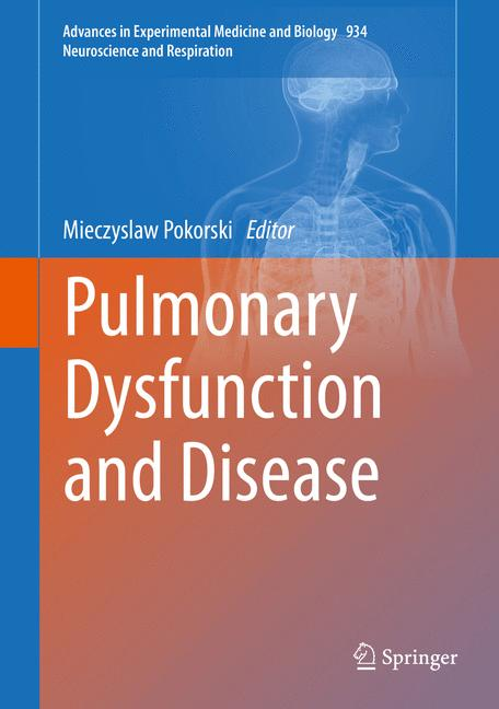Cover of 'Pulmonary Dysfunction and Disease'