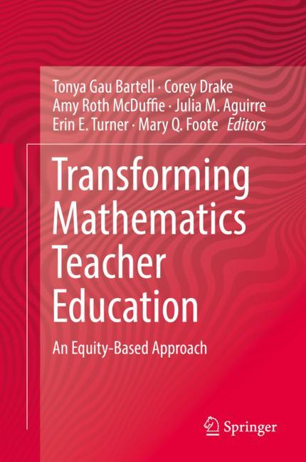 Cover of 'Transforming Mathematics Teacher Education'