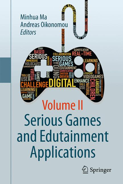 Cover of 'Serious Games and Edutainment Applications'