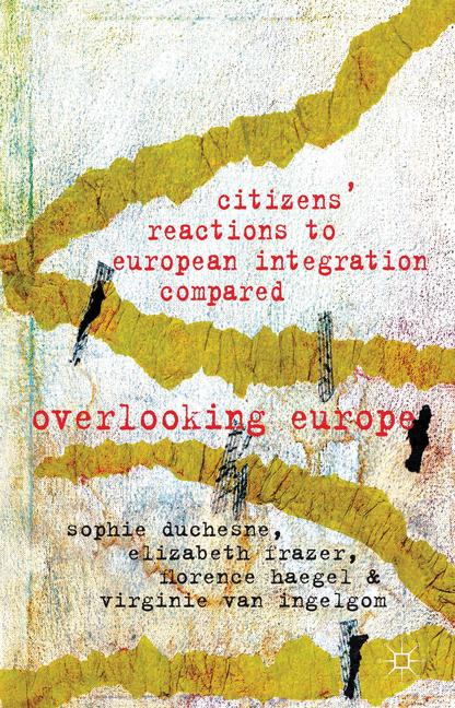 Cover of 'Citizens' Reactions to European Integration Compared'
