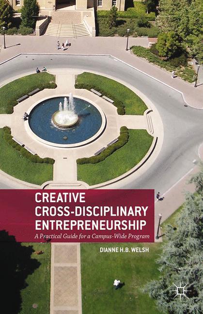Cover of 'Creative Cross-Disciplinary Entrepreneurship'