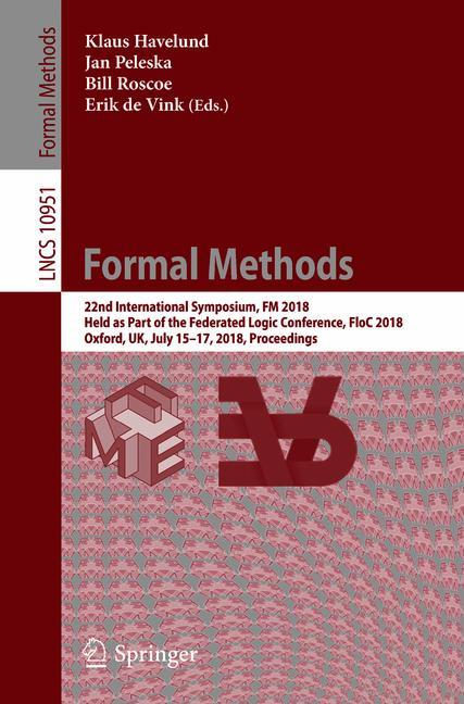 Cover of 'Formal Methods'