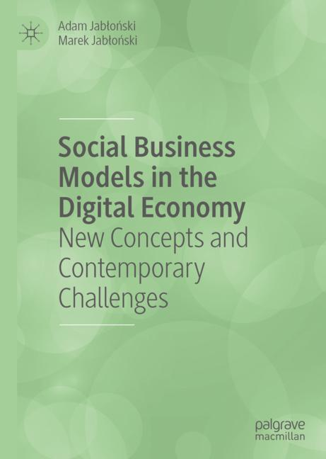 Cover of 'Social Business Models in the Digital Economy'