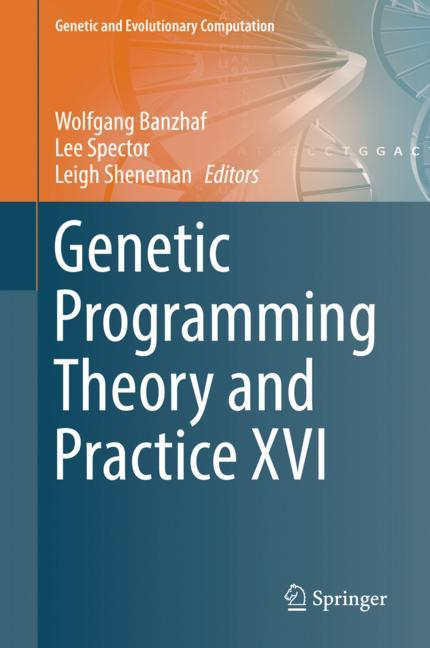 Cover of 'Genetic Programming Theory and Practice XVI'