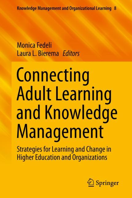 Cover of 'Connecting Adult Learning and Knowledge Management'