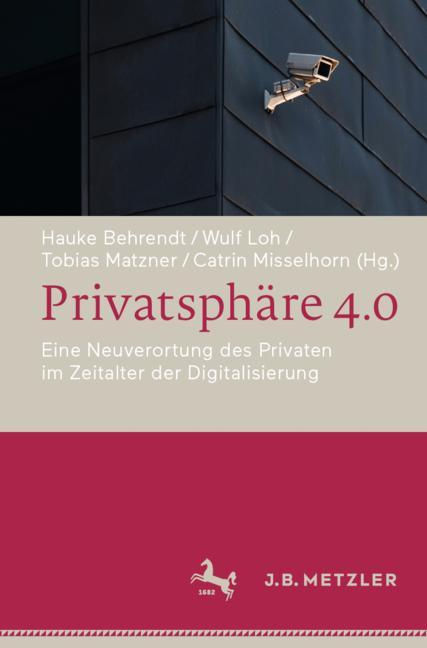 Cover of 'Privatsphäre 4.0'