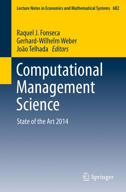 Cover of 'Computational Management Science'