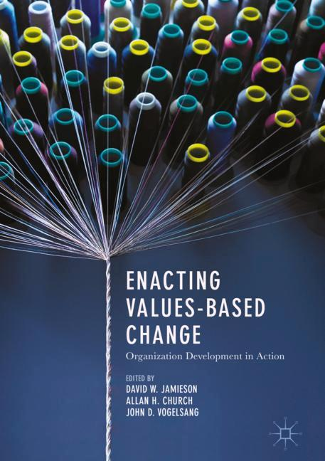 Cover of 'Enacting Values-Based Change'