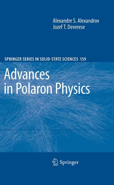 Cover of 'Advances in Polaron Physics'