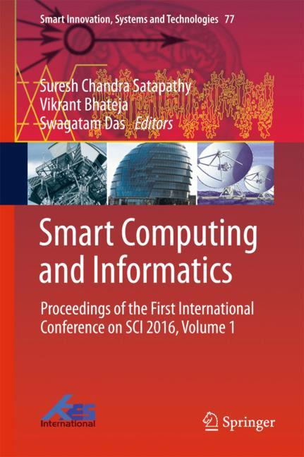 Cover of 'Smart Computing and Informatics'