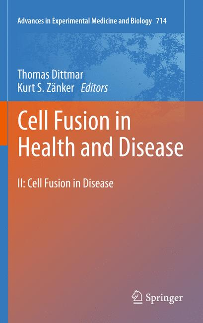 Cover of 'Cell Fusion in Health and Disease'