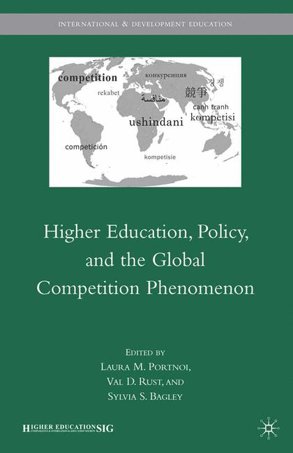 Cover of 'Higher Education, Policy, and the Global Competition Phenomenon'