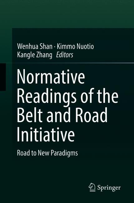Cover of 'Normative Readings of the Belt and Road Initiative'