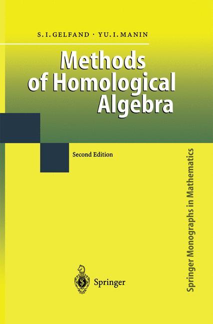 Cover of 'Methods of Homological Algebra'