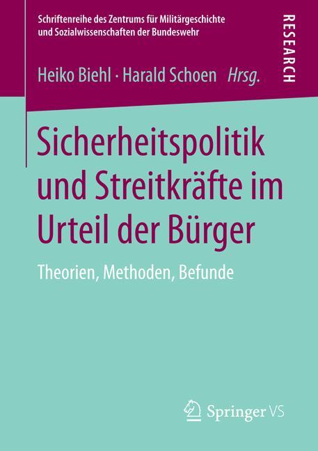 Cover of 'Sicherheitspolitik und Streitkräfte im Urteil der Bürger'