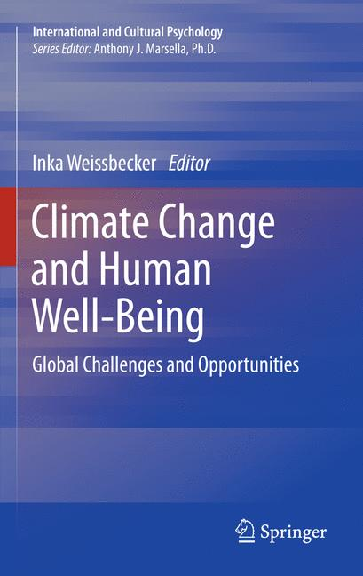 Cover of 'Climate Change and Human Well-Being'