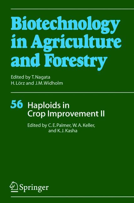 Cover of 'Haploids in Crop Improvement II'