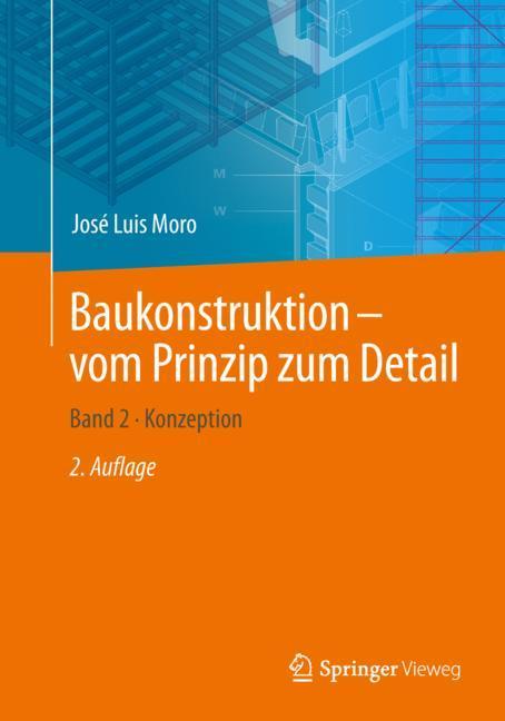 Cover of 'Baukonstruktion - vom Prinzip zum Detail'