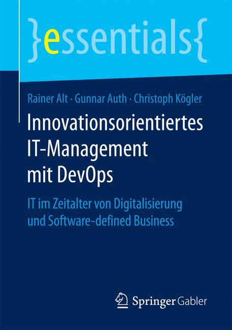 Cover of 'Innovationsorientiertes IT-Management mit DevOps'