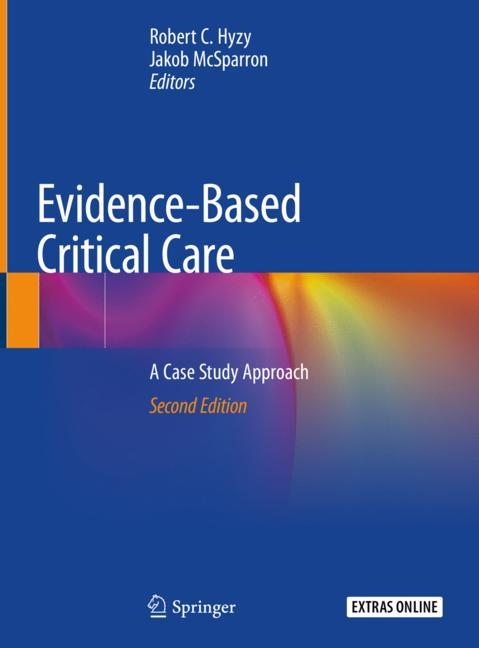 Cover of 'Evidence-Based Critical Care'