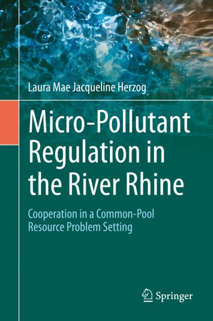 Cover of 'Micro-Pollutant Regulation in the River Rhine'