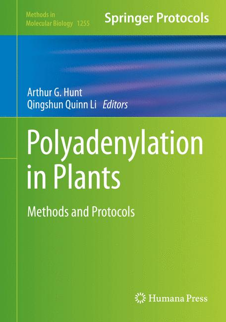 Cover of 'Polyadenylation in Plants'