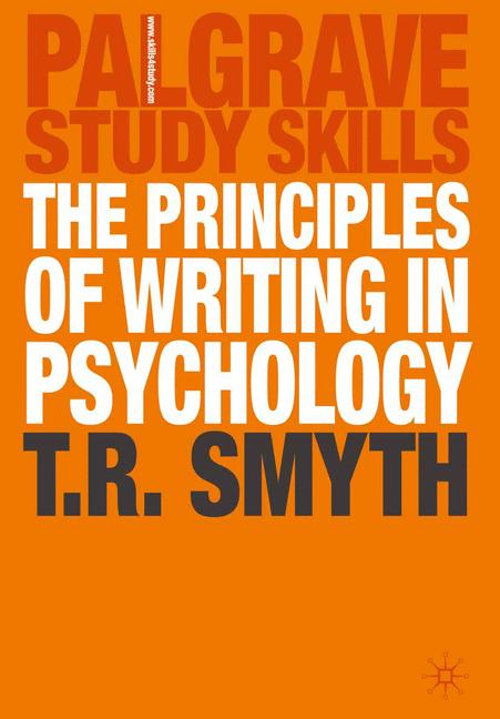 Cover of 'The principles of writing in psychology'