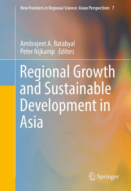 Cover of 'Regional Growth and Sustainable Development in Asia'