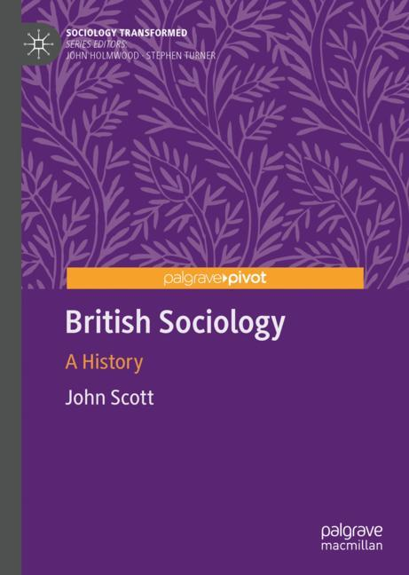Cover of 'British Sociology'