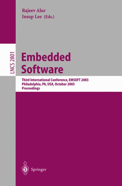 Cover of 'Embedded Software'