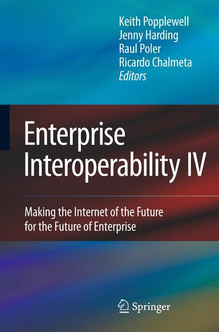 Cover of 'Enterprise Interoperability IV'