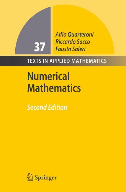 Cover of 'Numerical Mathematics'